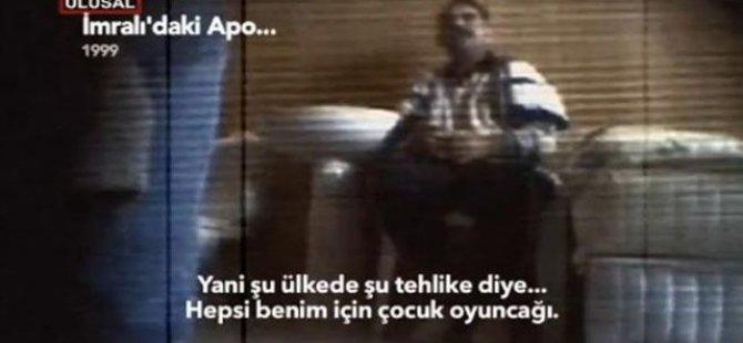 Öcalan'ın İmralı'daki Sorgu Görüntüleri Ortaya Çıktı-Video