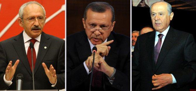 Oy Oranı Başbakan Erdoğan rakiplerini 5'e 8'e Katladı