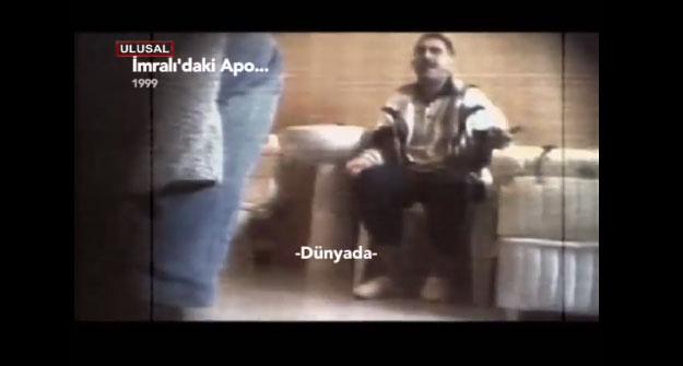 Abdullah Öcalan'ın sorgusundan yeni görüntüler