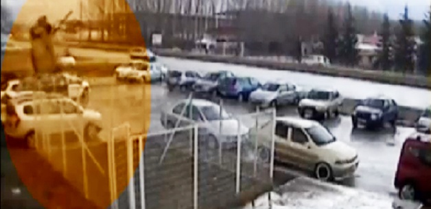 İnanılmaz kaza, havada 4 takla attı - VİDEO