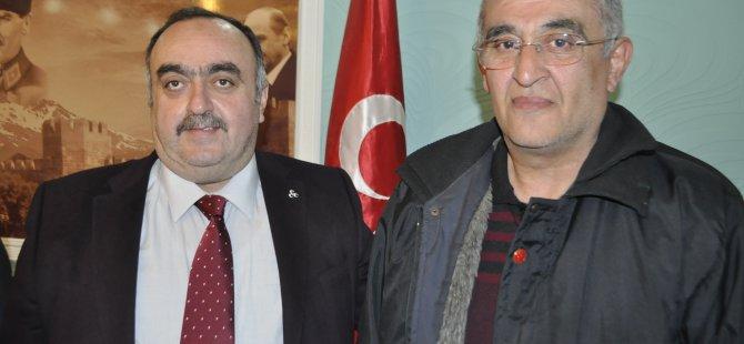 KAYSERİ AK PARTİDE DEPREM İSTİFA ETTİ MHP'YE GEÇTİ