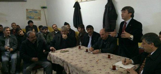 Başkan Özmen Bünyan'da belde ve köylerimiz de karış karış dolaşıyoruz