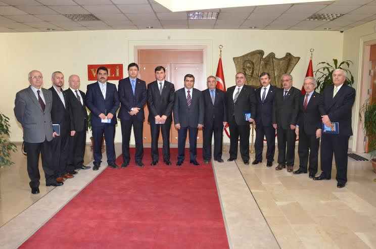 KAYSERİ VALİLİĞİ'NDE SEÇİM DEĞERLENDİRME TOPLANTISI