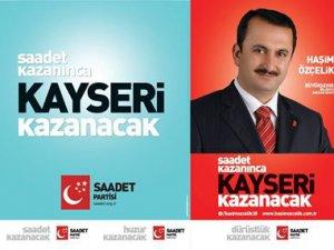 Saadet Partisi Kayseri Büyükşehir Belediye Başkan Adayı Haşim Özçelik TV1'de