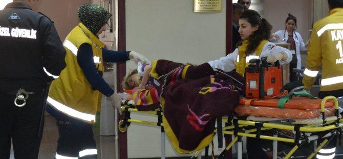 Yemliha Yolunda Tır Kazası: 4 yaralı