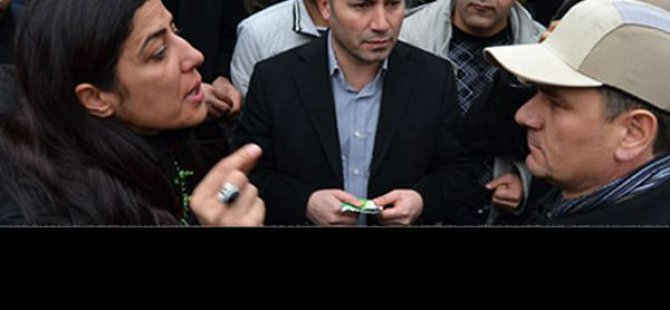 BDP'li Ayla Akat'tan Polis Müdürüne: Şerefsiz, Alçak