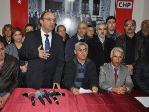 CHP KAYSERİ'DE İSTİFA ŞOKU