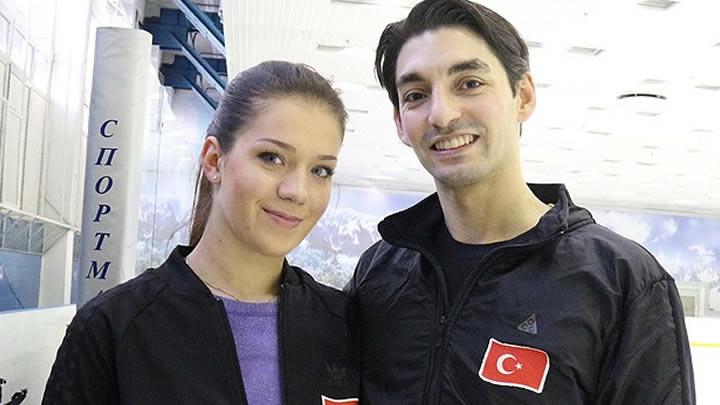 Türk'ün buzda dans etmesini çekemediler - VİDEO