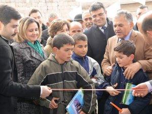 Ak Parti Melikgazi İlçe Teşkilatı 7. Seçim Bürosunu Ağırnas'ta açtı