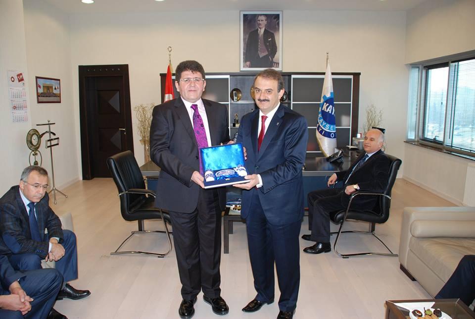 Ak Parti Hacılar Başkan Adayı Doğan Ekici'den Kayso'ya Ziyaret