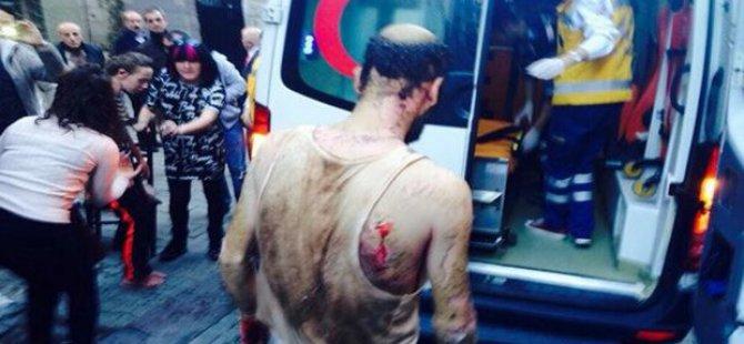İstanbul Taksim'de Patlama-VİDEO