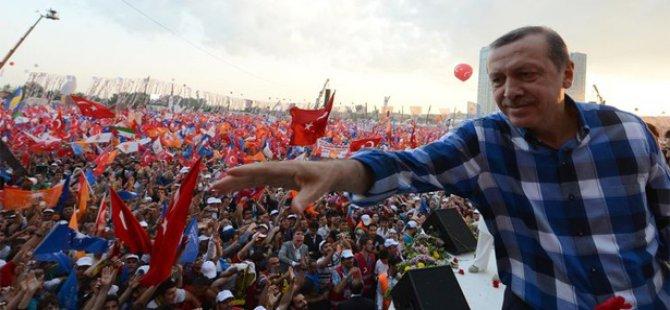 Başbakan Erdoğan Meydanlara İniyor İlk Mitingi nerde yapacak