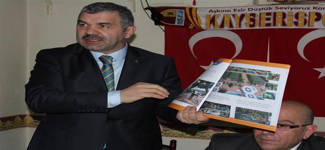 Çelik Cırgalan'da Organik Bahçe Projesi'ni anlattı