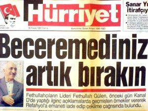 Başbakan Erdoğan'ın hatırlattığı manşet!