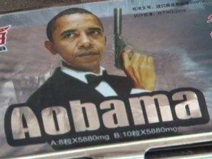 ABD Başkanı Barack Obama'nın eli