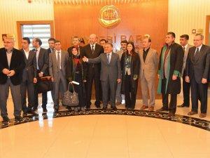 Başkanı Memduh Büyükkılıç Kayseri Barosu'nu ziyaret etti
