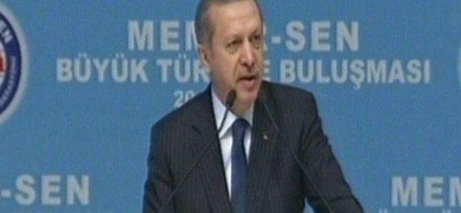 Memur-Sen Büyük Türkiye Buluşması'nda konuşan Başbakan: