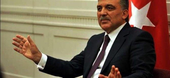 Abdullah Gül'ün seçim hassasiyeti!