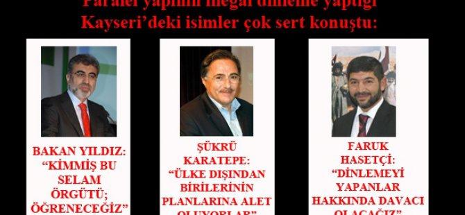 PARALEL YAPININ KULAĞI KAYSERİ'DE