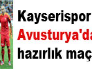 Kayserispor'un Rakipleri Değişti