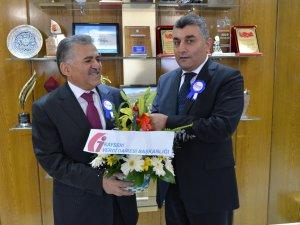 Başkan Büyükkılıç'a vergi ziyareti