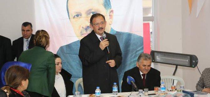 """""""KAYSERİ'Yİ DAHA DA BÜYÜTECEĞİZ"""""""