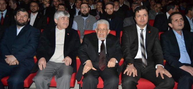 SAADET PARTİSİ ESKİ GENEL BAŞKANI RECAİ KUTAN KAYSERİ'DE