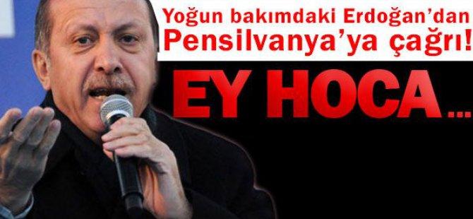 Başbakan'dan Gülen'e çağrı