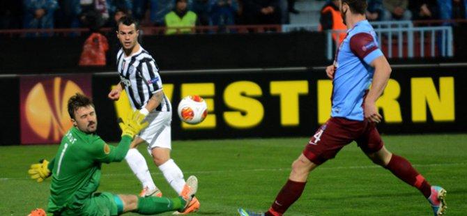 Trabzonspor Juve'ye Elendi