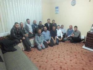 Saadet Partisi Hacılar Belediye Başkan Adayı Erdal Altun  seçim çalışmalarına evlerde devam ediyor.
