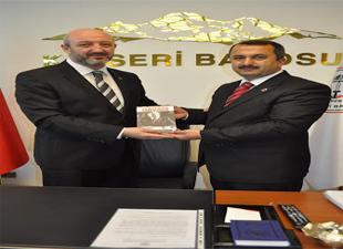 Saadet Partisi Belediye Başkan Adayları Kayseri Barosuna ziyarette bulundu