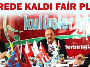 Kulüpler Birliği toplantısında Erciyesspor Başkanı salonu neden terk etmedi ?