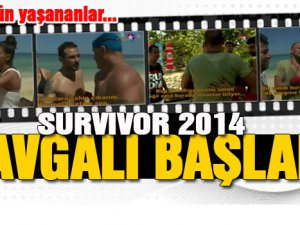 2014 Survivor'da ilk kavga