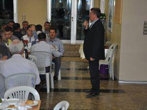 Kınaş'tan Taşeronlarına İftar Yemeği