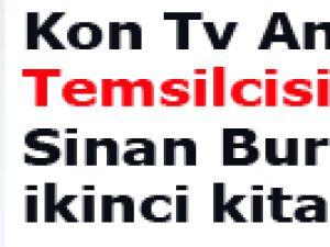 Kon Tv Ankara Temsilcisi Sinan Burhan'ın ikinci kitabı çıktı
