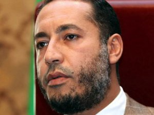 Kaddafi'nin oğlunu bu hale getirdiler