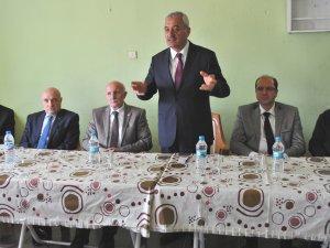 KAYSERİ AK PARTİ KAYSERİ MİLLETVEKİLLERİ İNCESU'DA