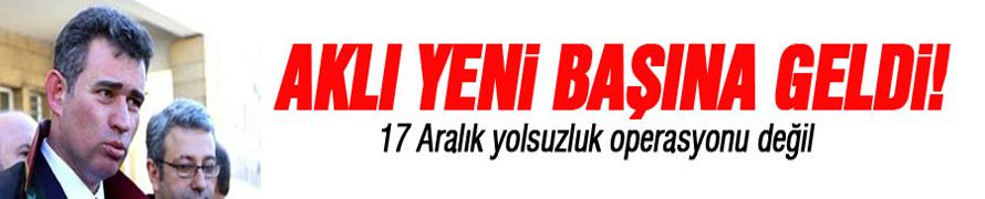 17 Aralık yolsuzluk operasyonu değil