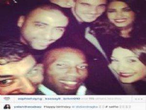 Drogba'nın doğum günü selfiesi!
