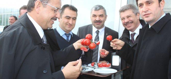 ÖZHASEKİ,KAYSERİ ŞEKER'İ ZİYARET ETTİ
