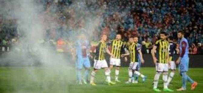 Trabzonspor'a 6 Maç Seyircisiz Oynama Cezası