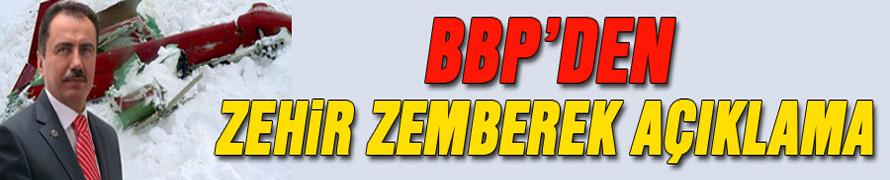 BBP'den olay yaratacak açıklama