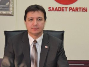 Saadet Partisi Kayseri İl Başkanı Mahmut Arıkan Çanakkale şehitlerini andı