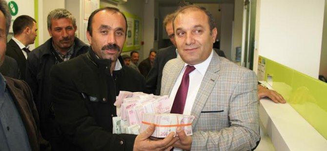 Kayseri Şeker Fabrikası Pancar Paralarını erken ödemeye başladı