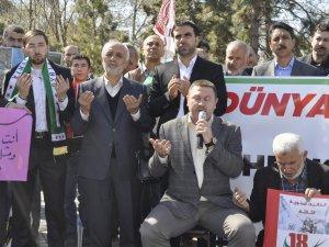 KAYSERİ MAZLUM-DER SURİYE İÇİN TOPLANDI
