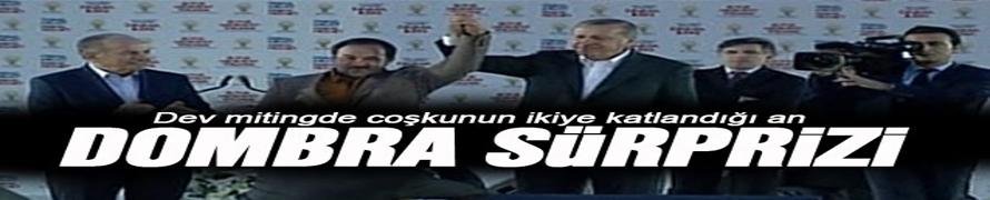 Başbakan Erdoğan'a domra sürprizi