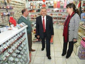 Pelin Gündeş Bakır ve Başkan Büyükkılıç Mimsin'de miting yaptı