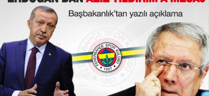 Başbakan'dan Fenerbahçe'ye kutlama