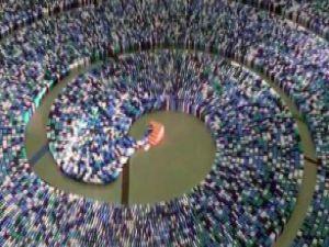 Domino taşı devirmede dünya rekoru