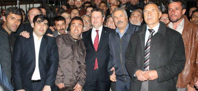 Talas'ta ipi göğüsleyen Mustafa Palancıoğlu oldu